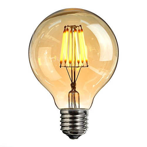 elfeland edison led globe gl hbirne e27 6w retro vintage industriell stil gl hbirne lampe. Black Bedroom Furniture Sets. Home Design Ideas
